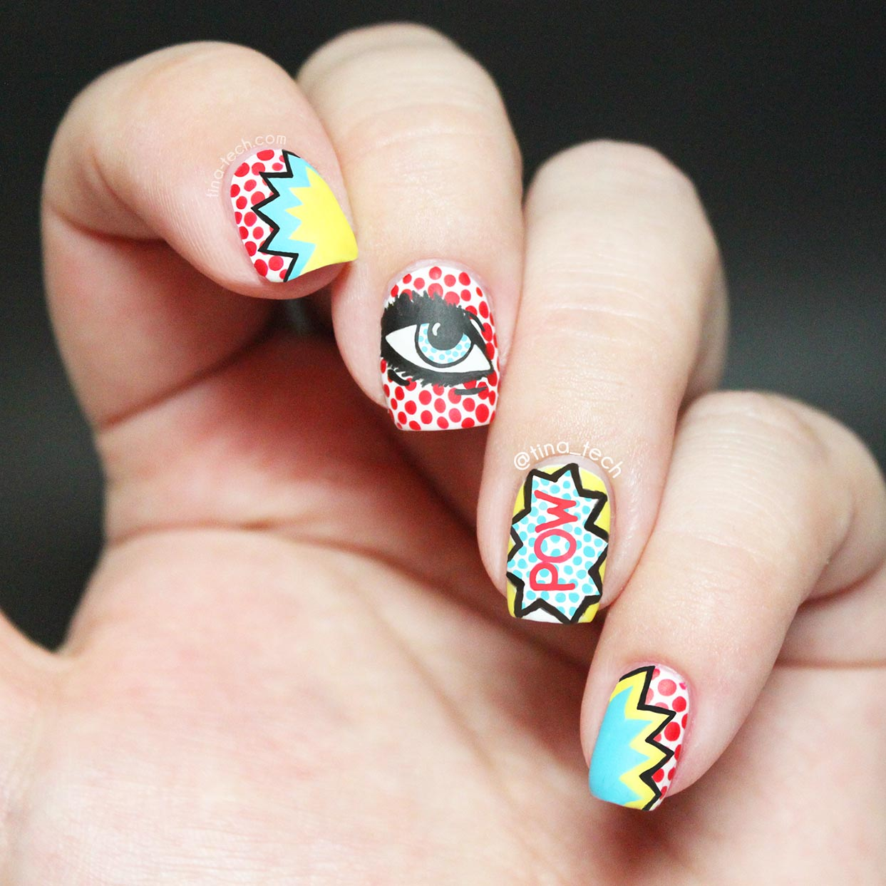 The Beauty Buffs Polka Dots Pop Art Tinatech