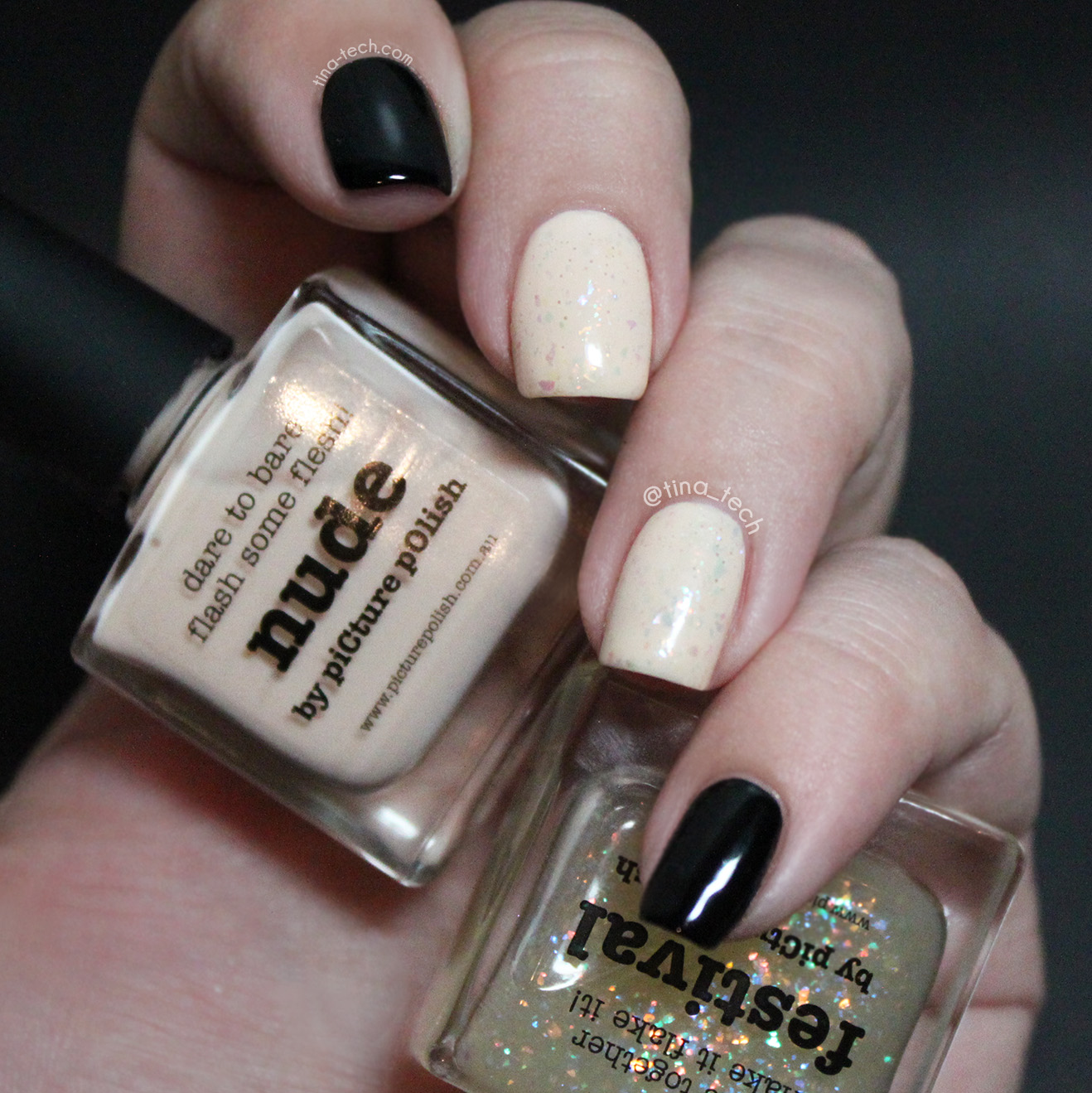 Simple Party Nails Featuring piCture POlish
