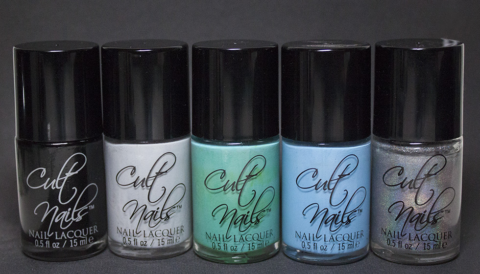 Cult Nails - Fetish, Faded, Riot, Nakizzle's Shizzle and Mayhem