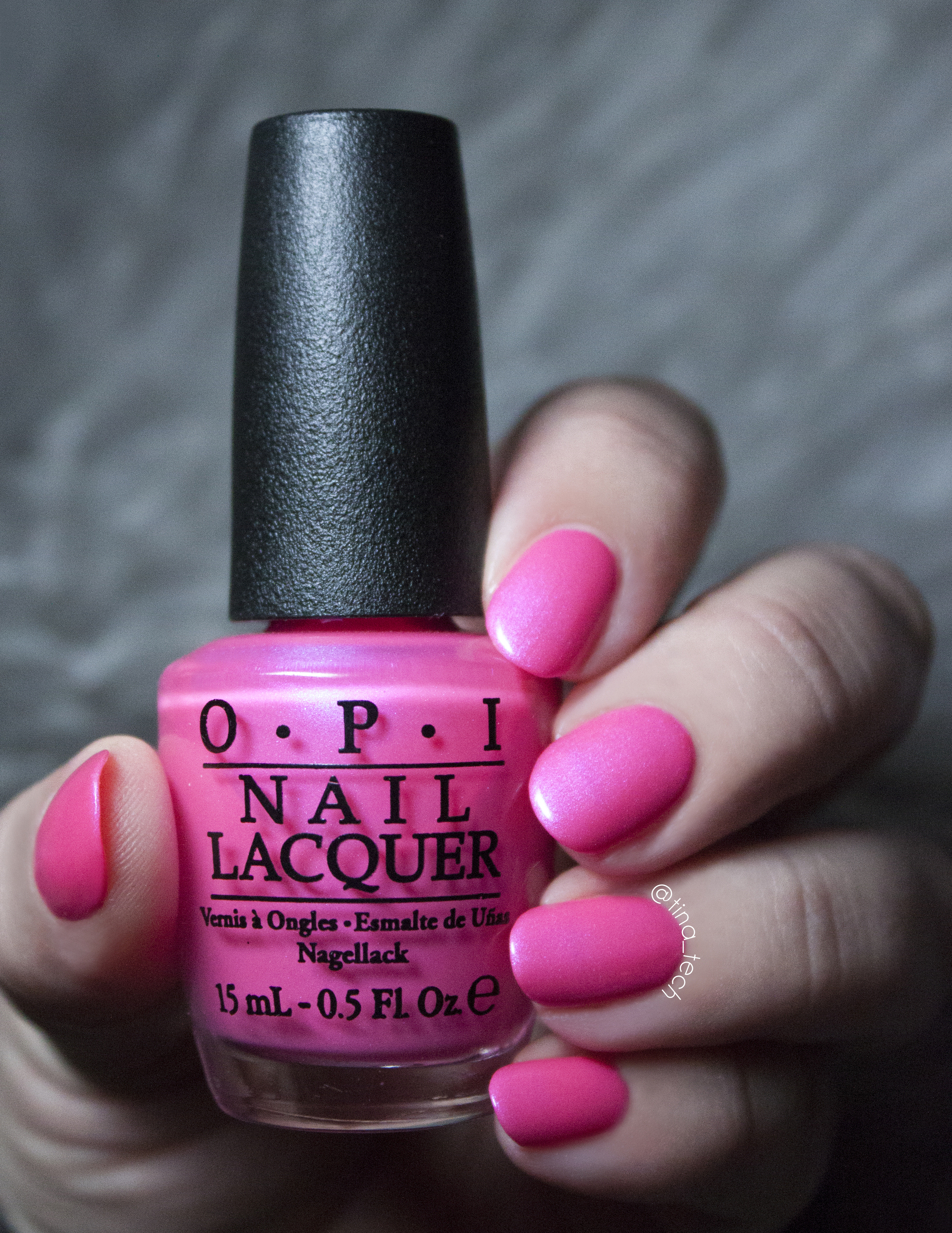 OPI - Hotter than You Pink