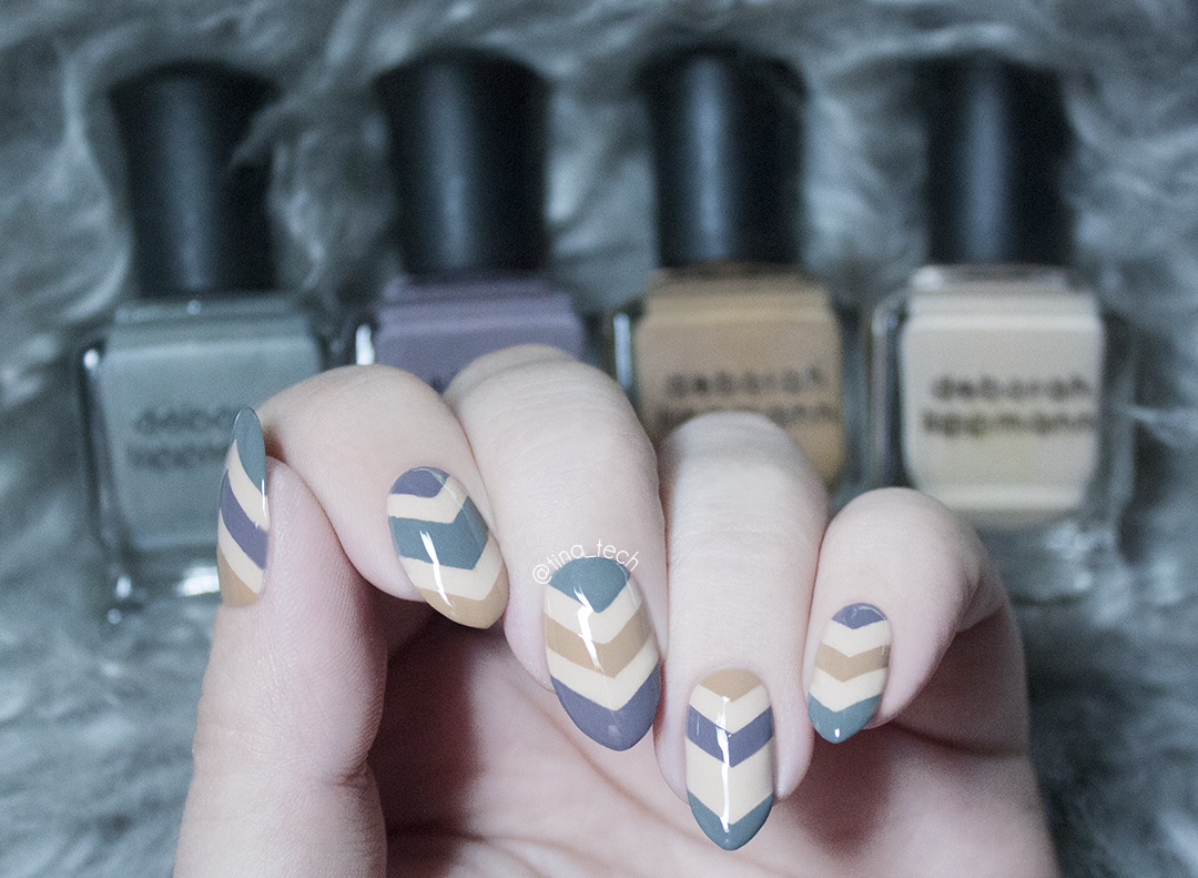 Deborah Lippmann - Painted Desert Collection 2015 Nail Art