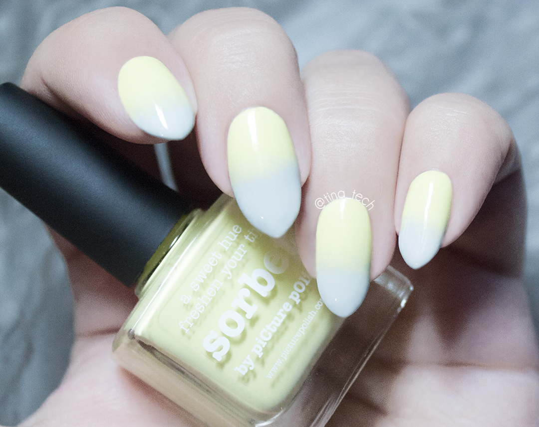 piCture pOlish - Sorbet and H&M - Stucco
