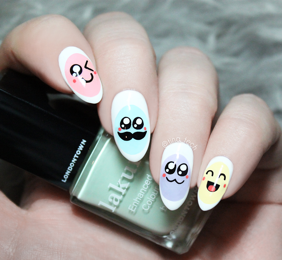 Cute Easter Egg Mani