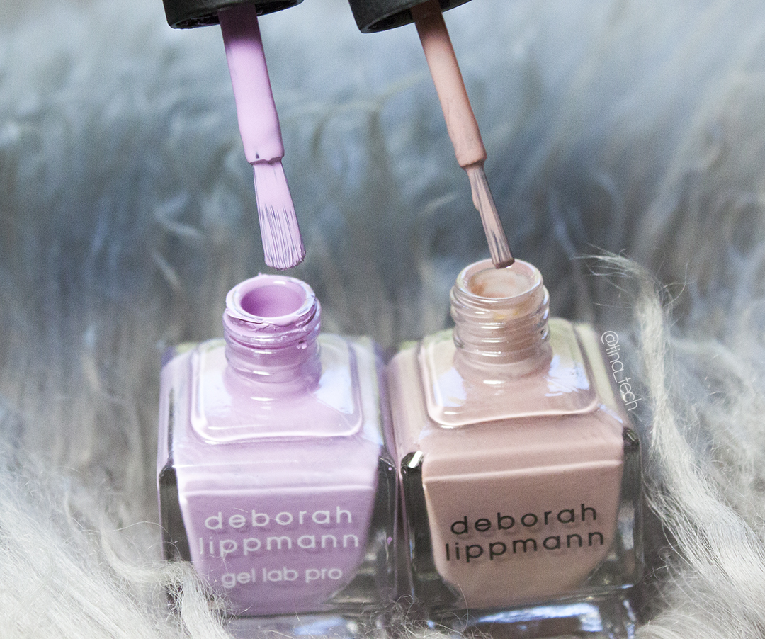 Deborah Lippmann - Gel lab pro brush comparison