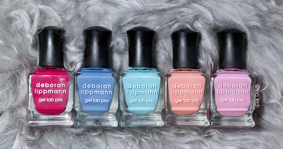 Deborah Lippmann - Summer Collection 2016: Happy Days
