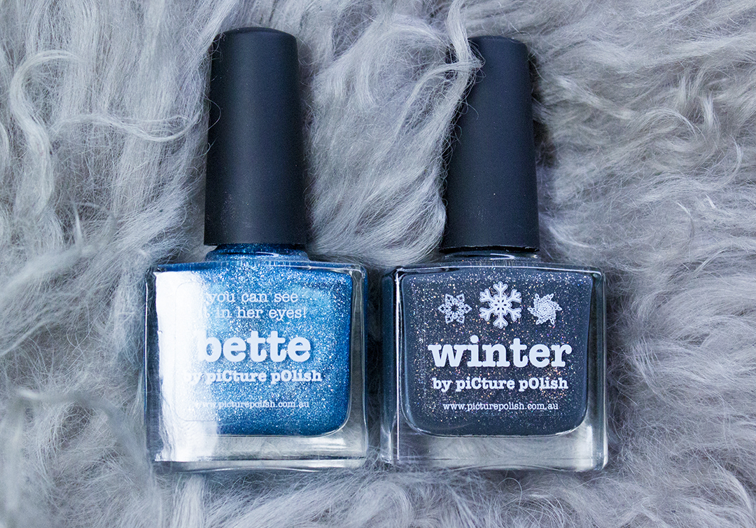 picture polish winter and bette